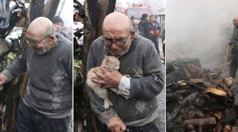 Gjyshi që preku zemrat e një kombi