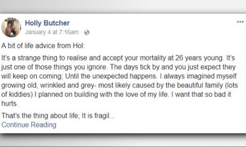 Ajo i kërkoi prindërve ta publikonin në Facebook, Letra e 27-vjeçares i përloti të gjithë pas vdekjes se saj