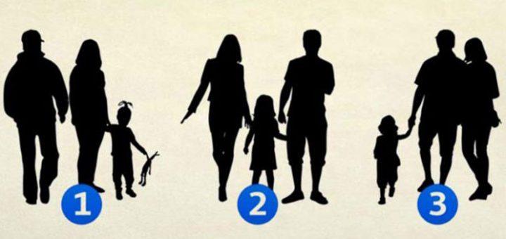 Cila prej tyre nuk është familje e vërtetë? Kujdes, zgjedhja ju përcakton…
