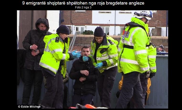 Rrezikuan jetën me gomone nga Franca në Angli, shqiptarët shpëtohen nga britanikët