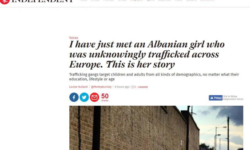 'The Indipendent' zbulon vajzën shqiptare, nga një studente në prostitutë në Evropë. Historia e saj do t'ju lerë pa fjalë