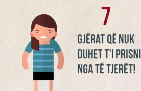 7 gjëra që s'duhet t'i prisni nga të tjerët
