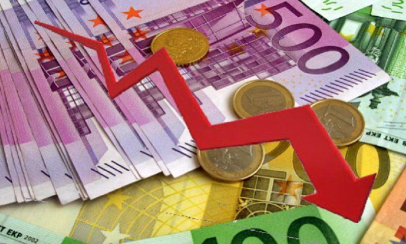 Rënia e euros nuk ka të ndalur, shënon nivele që nuk ishin parë që nga 2009