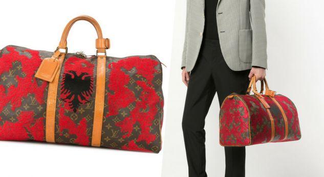 Flamuri kuq e zi vendoset në çantat e Louis Vuitton, çmimi i tyre eshte marramendës