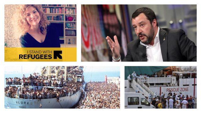 Emigrantja shqiptare i mbyll gojën Salvinit: S'jemi budallenj, nuk e harrojmë shprehjen 'hidhini në det'