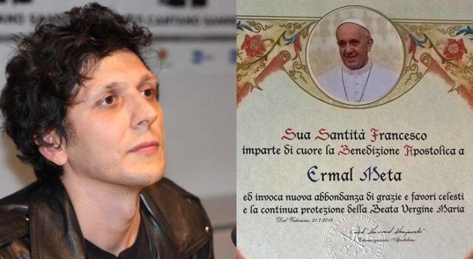 Ermal Meta refuzon bekimin apostolik të Papa Françeskut?