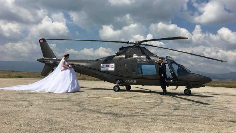 Shuma marramendëse, Ja sa paguajnë çiftet për një udhëtim me helikopter në ditën e dasmës