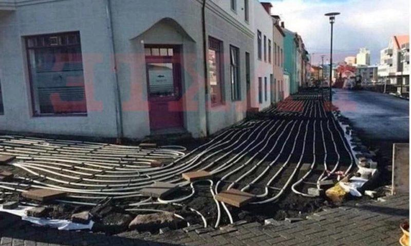 Nuk dinë ku t'i çojnë paratë, ky shtet shtron rrugët me ngrohëse (Foto)